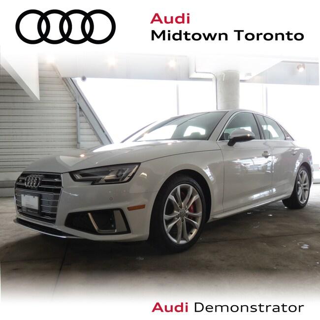 Used 2019 Audi S4 3.0T Technik quattro w/ B&O 3D Virtual Cockpit Sedan Toronto