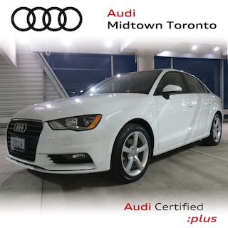 Used 2016 Audi A3 1.8T Komfort FWD w/ Pano Roof|Bluetooth|Alloys Sedan WAUA7GFF4G1051250 for sale in Toronto, ON at Audi Midtown Toronto