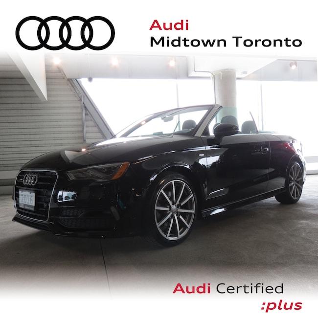 Used 2016 Audi A3 2.0T Technik qauttro w/ Navi Rear Cam B&O Convertible Toronto