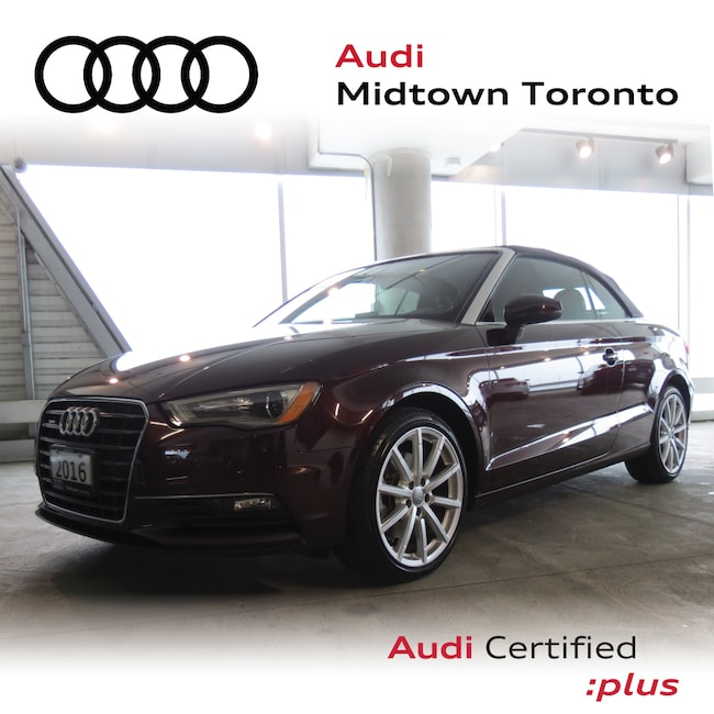 Used 2016 Audi A3 2.0T Komfort quattro w/ Xenons|Convertible Roof Convertible Toronto