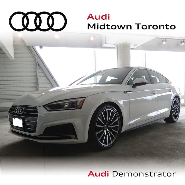 Used 2019 Audi A5 2.0T Progressiv quattro w/ LEDs|Sport Seats Sportback Toronto