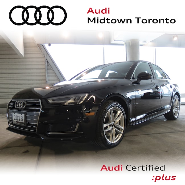 Used 2018 Audi A4 2.0T Technik quattro w/ Adaptive Cruise|B&O Sedan Toronto