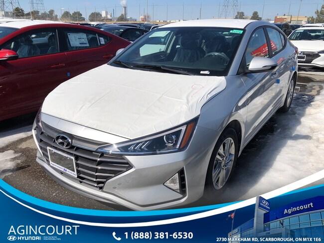 2019 Hyundai Elantra PREF FWD SUN   SAFE Sedan