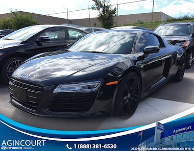 2014 Audi R8 V8, CLEAN CARPROOF, CARBON SIDE BLADE Coupe
