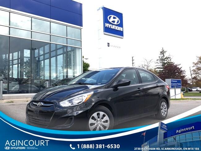 2017 Hyundai Accent GL|HEATED SEATS|BLUETOOTH|KEYLESS ENTRY|A/C Sedan