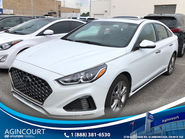 2019 Hyundai Sonata SPORT|LEATHER|SUNROOF|BLINDSPT|DWHEEL|BCAM Sedan