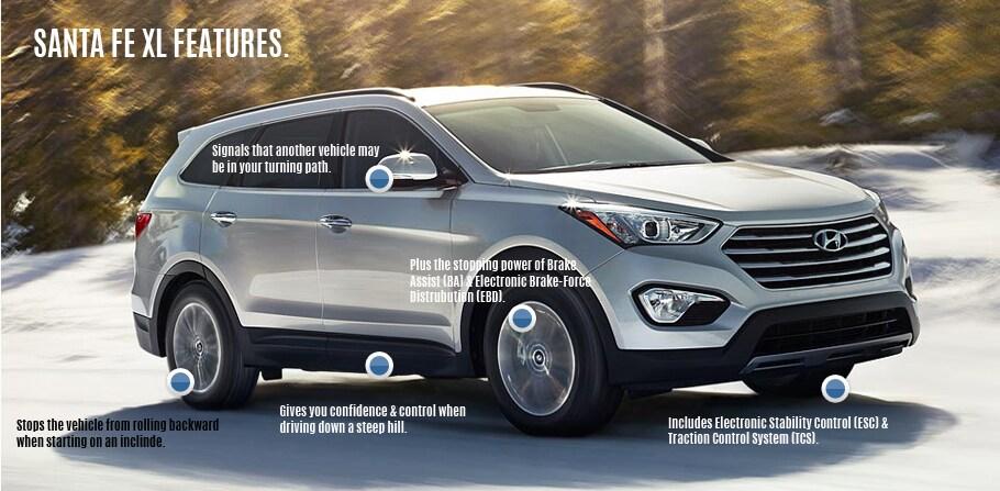The All New 2015 Santa Fe XL   Safety Features   AGINCOURT HYUNDAI