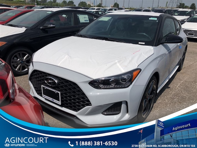 2019 Hyundai Veloster 1.6L TURBO 6SP MANUA Hatchback