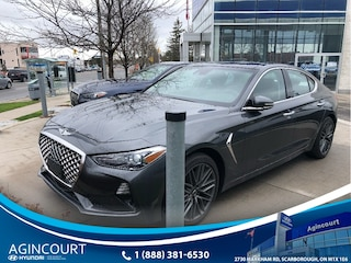 2019 Genesis G70 2.0T Elite|AWD|NAVI|BLINDSPT|BCAM|ROOF Sedan