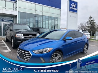 2017 Hyundai Elantra GLS|SUNROOF|BLINDSPT|BCAM|1 OWNER|PUSH BUTTON Sedan