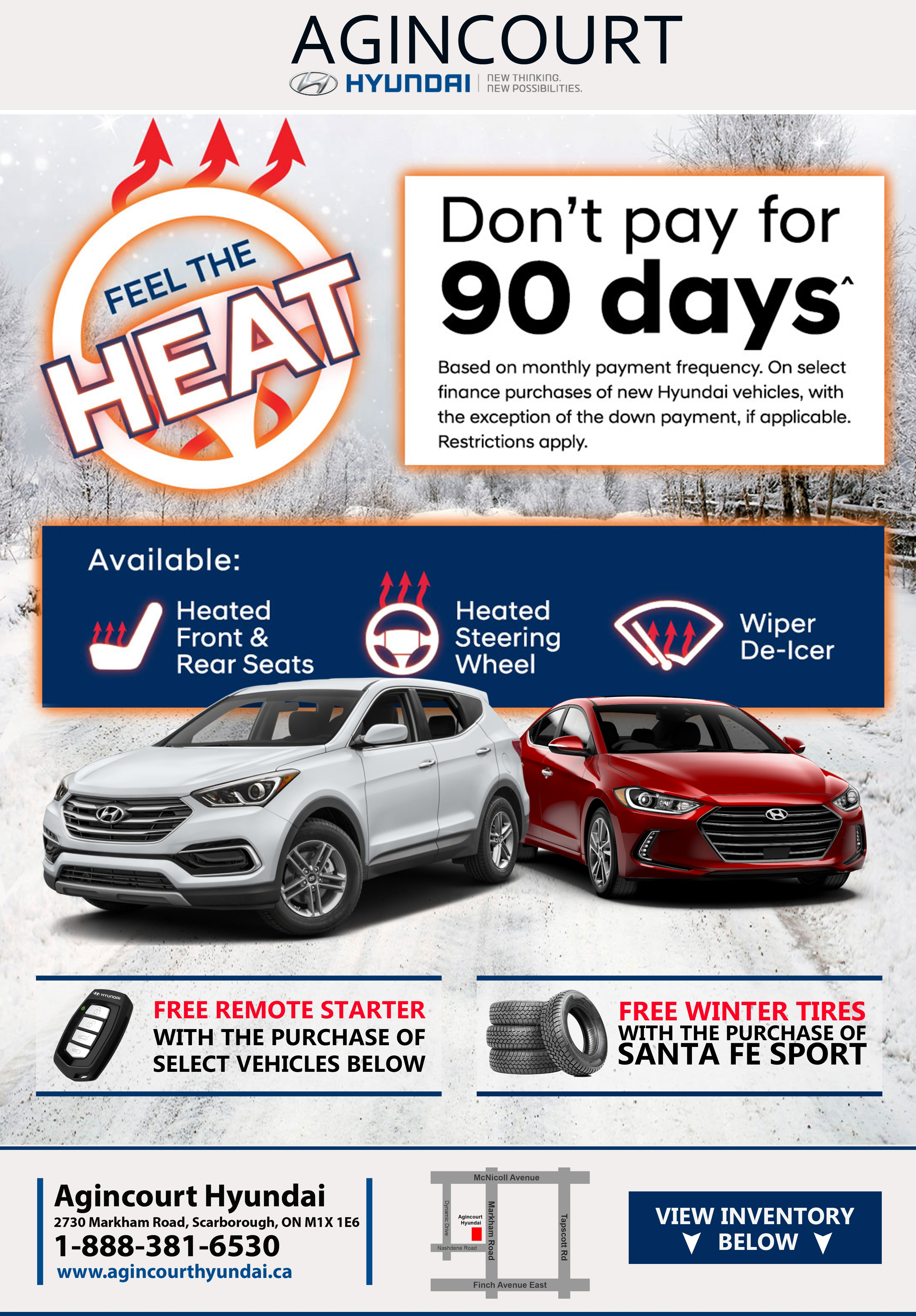Feel The Heat Remote Starter Promo Agincourt Hyundai