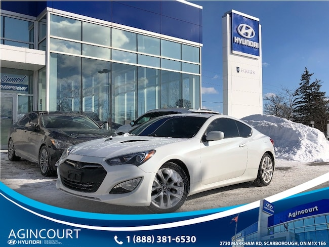 2013 Hyundai Genesis 2.0T Premium|LEATHER|NAVI|SUNROOF|1 OWNER Coupe