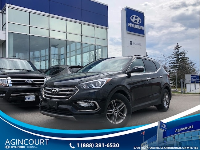 2018 Hyundai Santa Fe Sport 2.4 SE AWD|LEATHER|PANOROOF|BCAM|BLINDSPT|ALLOYS SUV