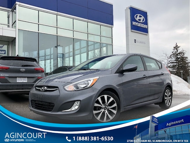 2017 Hyundai Accent SE|SUNROOF|ALLOYS|5 DR|HEATED SEATS Hatchback