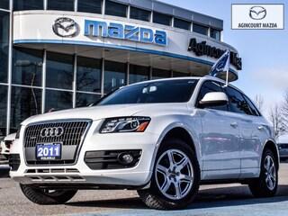 2011 Audi Q5 2.0T Premium | Htd Lthr Sts | Bluetooth | Sensors SUV