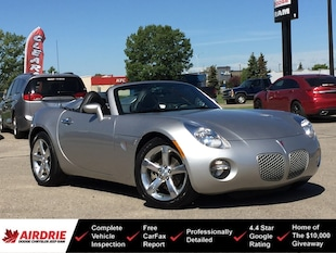 2007 Pontiac Solstice Convertible! ONLY 28K! Manual! Like New! Convertible
