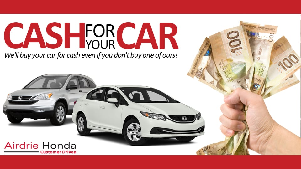 Airdrie Honda | We Want You To Sell Us Your Car! | (403) 945-8808