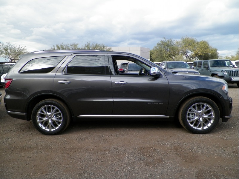 2014 Dodge Durango Suv With 2nd Row Captain Chairs Autos