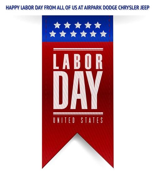 Nice Tags: AZ Labor Day, Airpark Dodge Chrysler Jeep