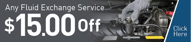 Any Fluid Exhange Service Coupon, Scottsdale