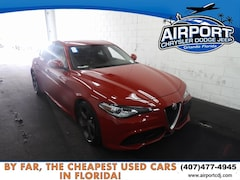 Used 2018 Alfa Romeo Giulia Base Sedan HJ7565887 in Orlando, FL