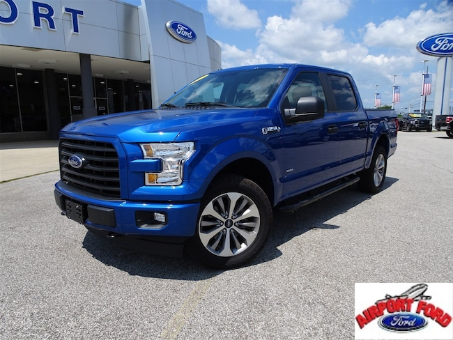2017 Ford F-150 XL XL 4WD SuperCrew 5.5 Box