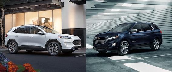 Ford Escape Vs Chevy Equinox >> 2020 Ford Escape Vs Chevrolet Equinox Airport Ford