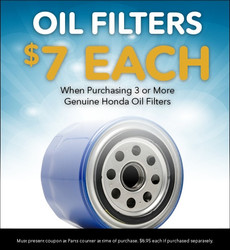 Oil Filters $7 Each