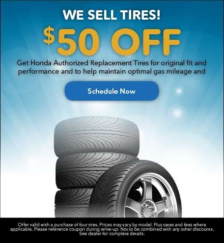 $50 Off With New Tires Purchase