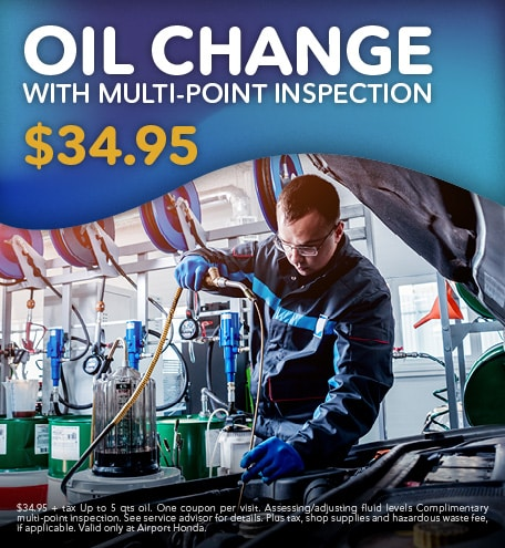 Oil Change with Multi Point Inspection