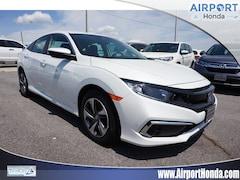 New 2019 Honda Civic LX Sedan 19XFC2F60KE027671 KE027671 in Alcoa, TN