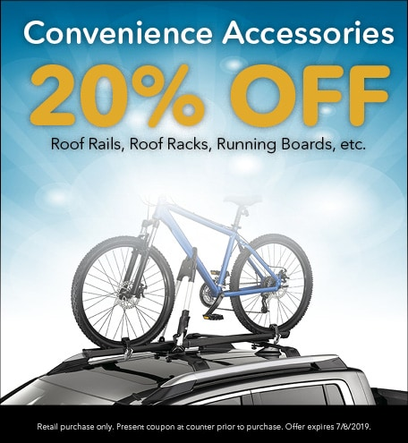 20% Off Convenience Accessories