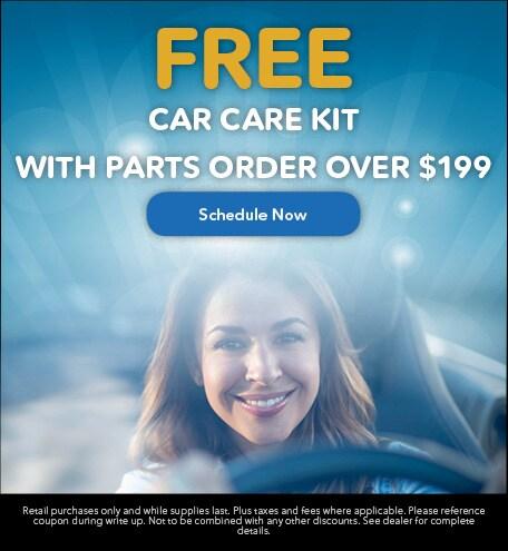 FREE Car Care Kit