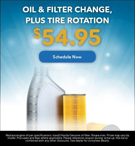 Oil & Filter Change, Plus Tire Rotation