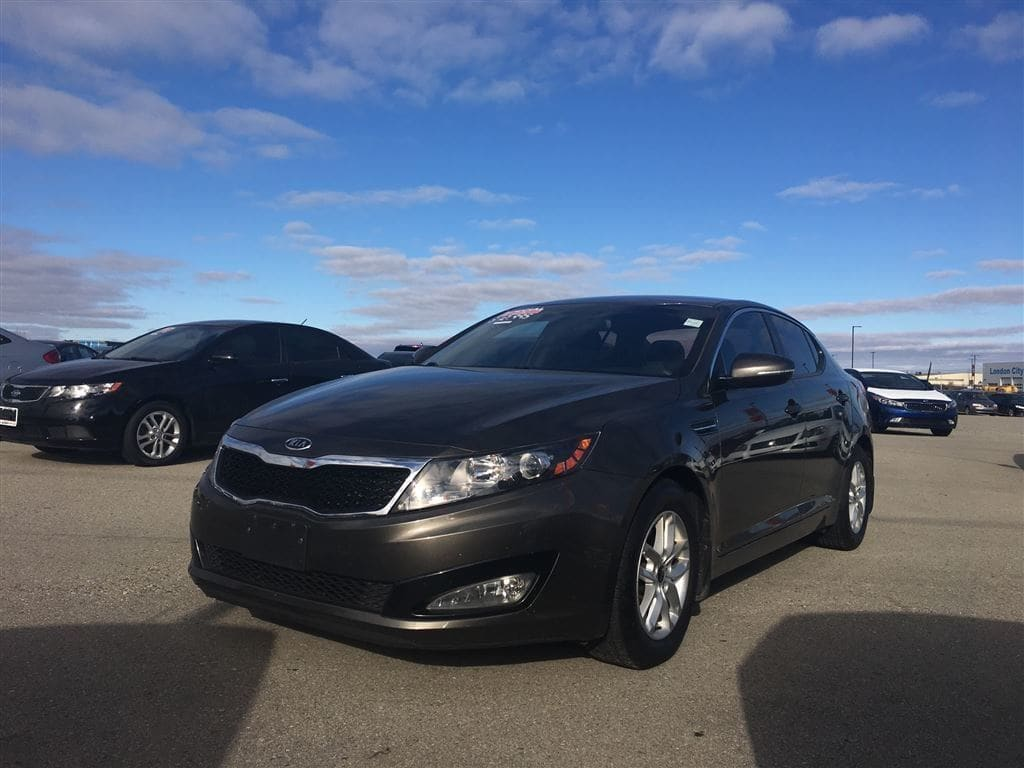 2011 Kia Optima LX Sedan Gas Automatic FWD Brown