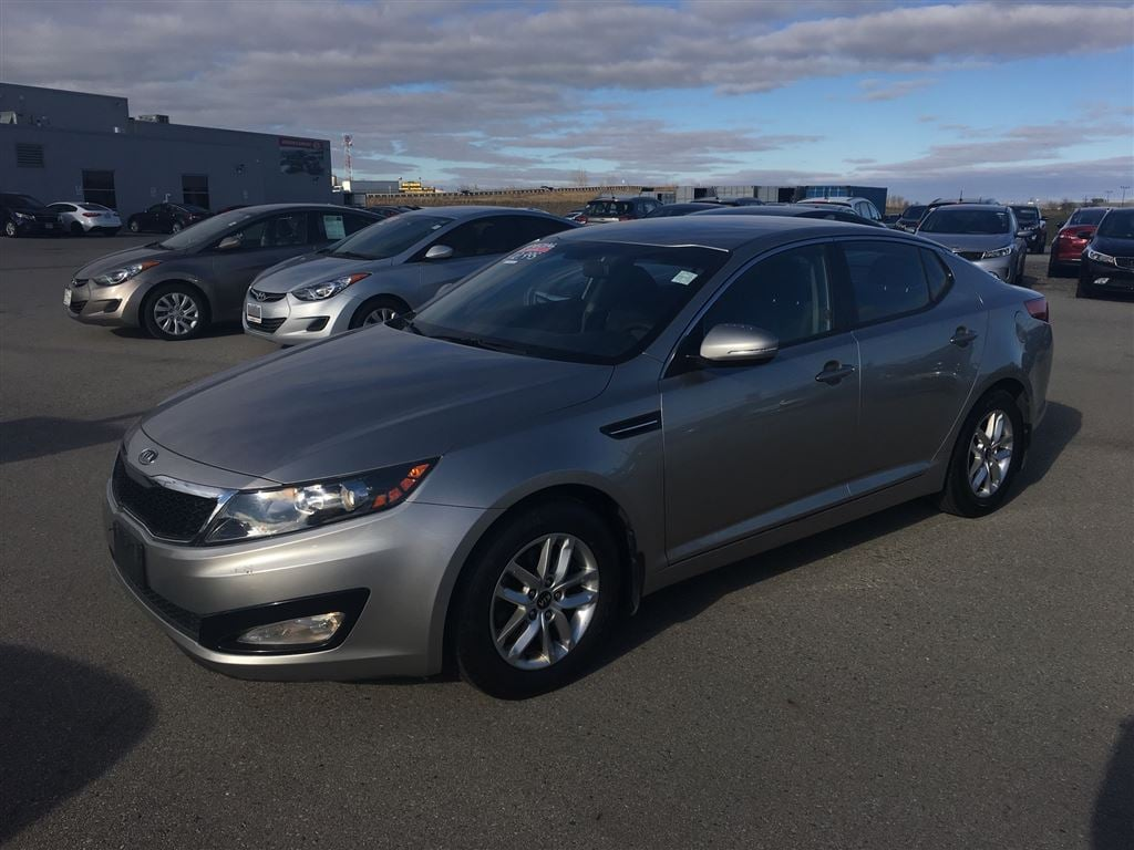 2011 Kia Optima LX+ Sedan Gas 6 Speed Automatic FWD Grey