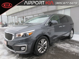2017 Kia Sedona SXL 7 seater/Heated seats& steering/Sunroof/Camera