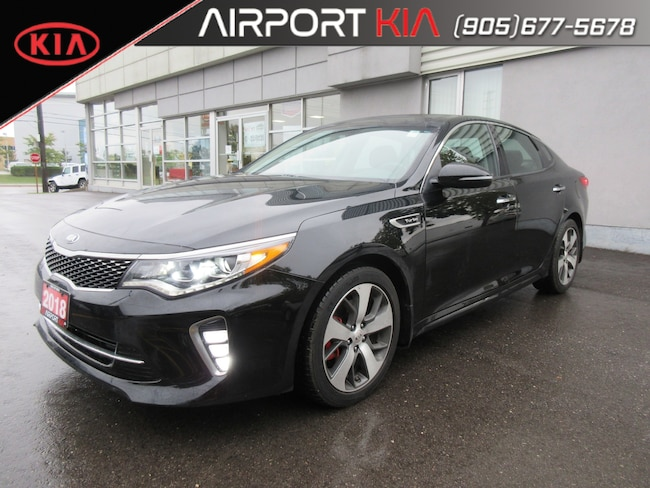 2018 Kia Optima SX Turbo DEMO/Loaded/Leather/Panoramic Sunroof Sedan