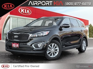 2018 Kia Sorento LX V6 7-Seater /Camera/Android Auto Apple CarPlay