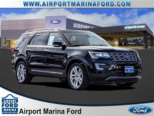 Used 2017 Ford Explorer Limited SUV Los Angeles, CA