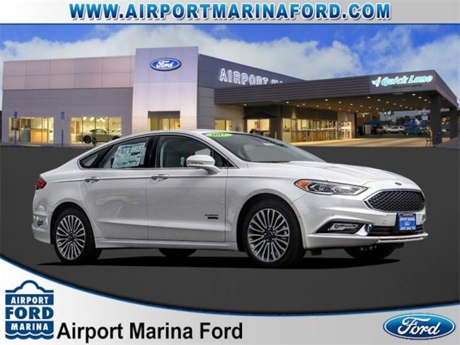 New 2017 Ford Fusion Energi Platinum Sedan Los Angeles, CA