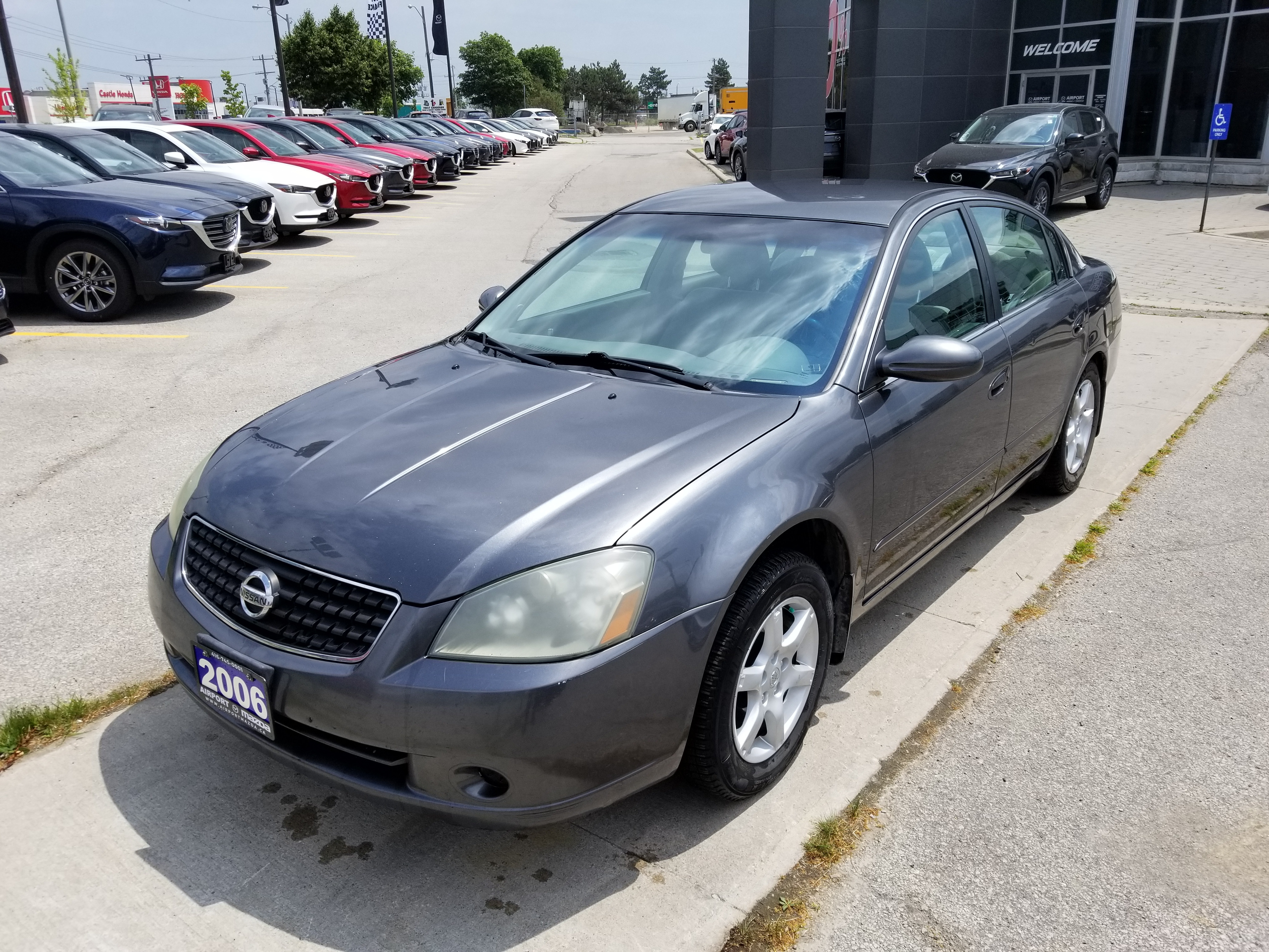 2006 Nissan Altima For Sale >> Used 2006 Nissan Altima For Sale At Airport Mazda Of Toronto Vin