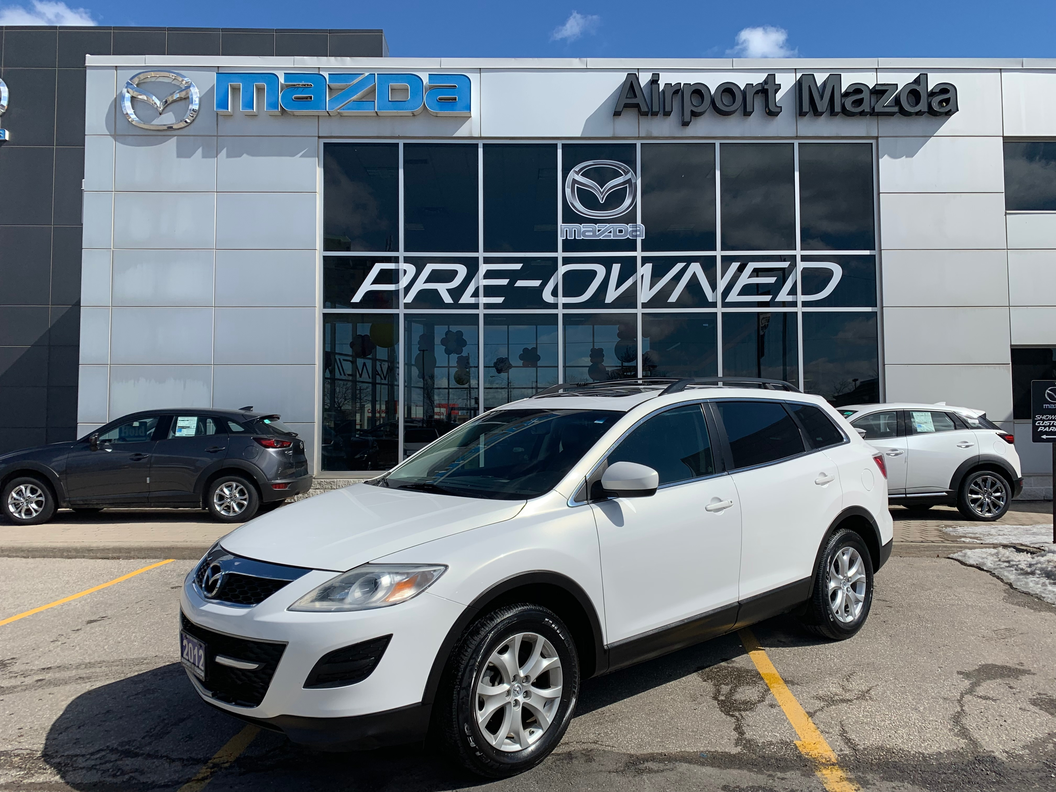 2012 Mazda CX-9 GSL AWD ROOF LEATHER 1OWNER 7SEATER SUV