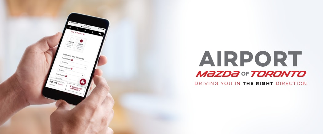 Start Your Purchase Online | Airport Mazda of Toronto
