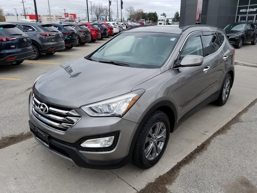 Mazda Santa Fe >> Used 2013 Hyundai Santa Fe Sport For Sale At Airport Mazda Of Toronto Vin 5xyzu3la9dg036884