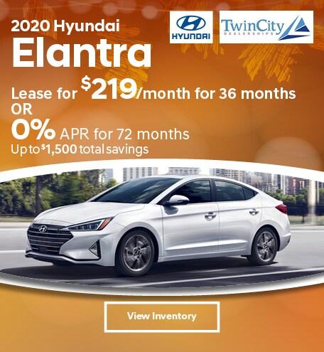 September 2020 Hyundai Elantra