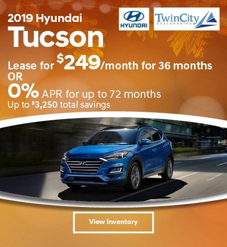 September 2019 Hyundai Tucson