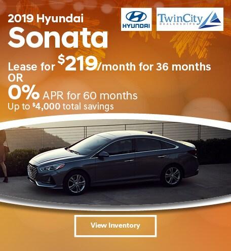 September 2019 Hyundai Sonata