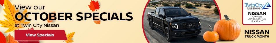 October 2019 New Vehicle Specials