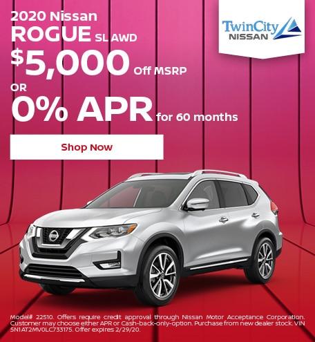 February 2020 Nissan Rogue